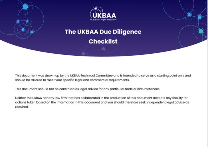 The UKBAA DD Checklist